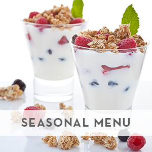 Jewell To Go - Seasonal Menu