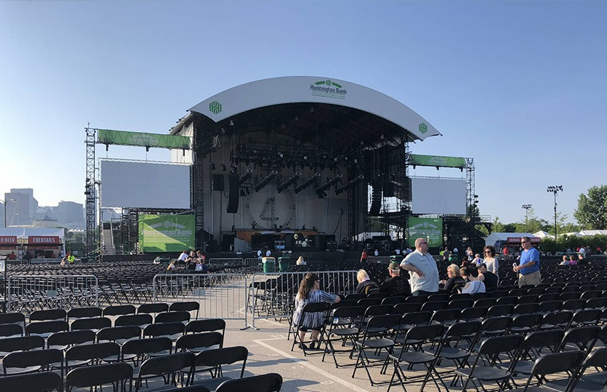 huntington bank pavilion at northerly island chicago il parking